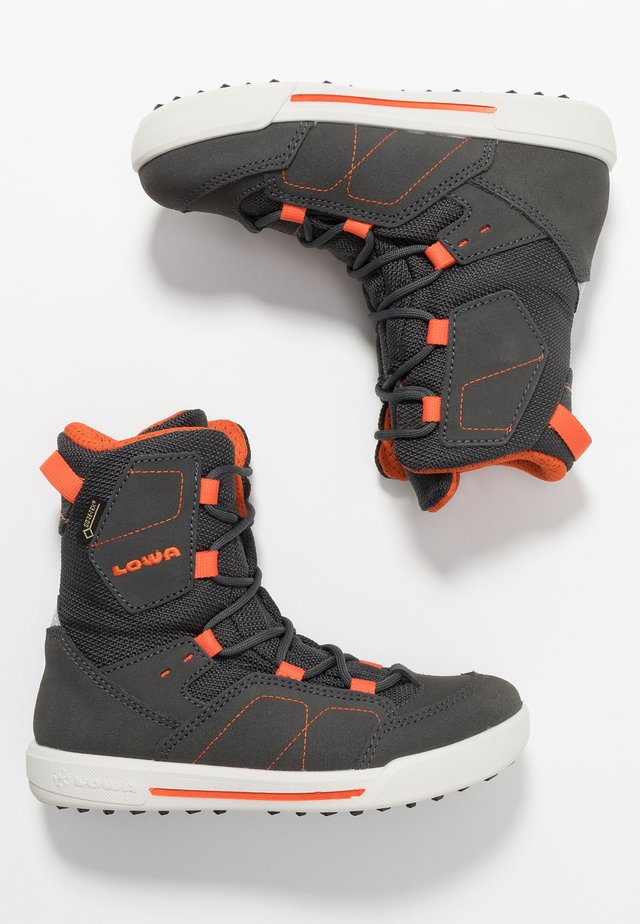 RAIK GTX - Snowboot/Winterstiefel - anthrazit/orange
