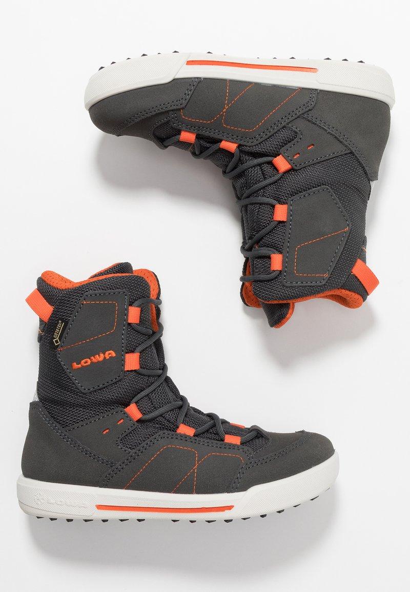 Lowa - RAIK GTX - Vinterstøvler - anthrazit/orange