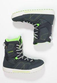 Lowa - RAIK GTX - Winter boots - navy/limone - 1
