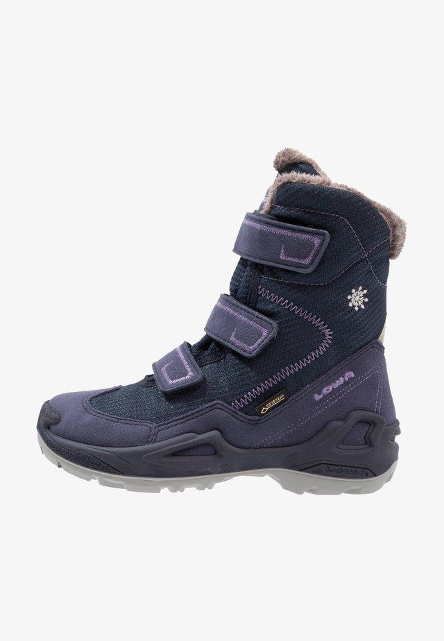 MILO GTX - Snowboots  - navy/lila