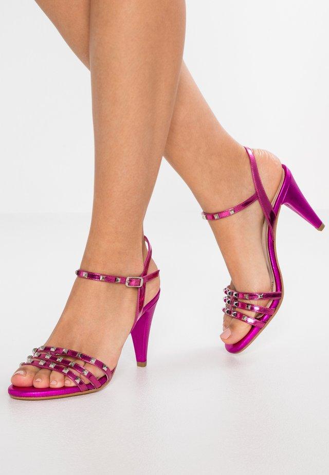 INSULA - Sandalen met hoge hak - pink