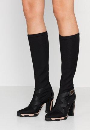 Laarzen met hoge hak - celba nero/boston nero