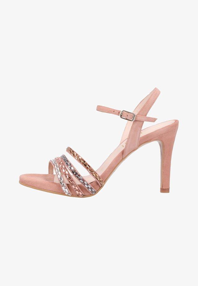 High Heel Sandalette - beige