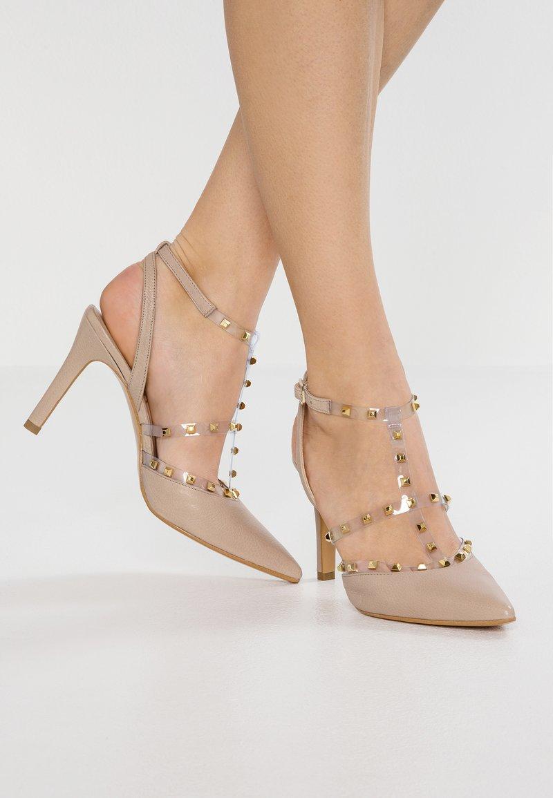 Lodi - RUSH - Zapatos altos - ginger/oro