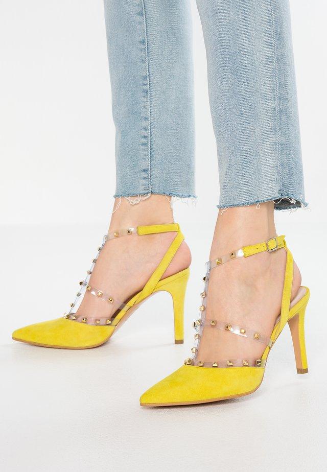 RUSH - High heels - emoji/oro