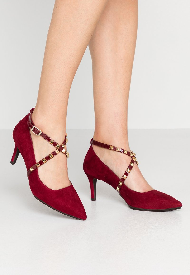 Lodi - ELDORA GO - Klassiske pumps - bordo/oro