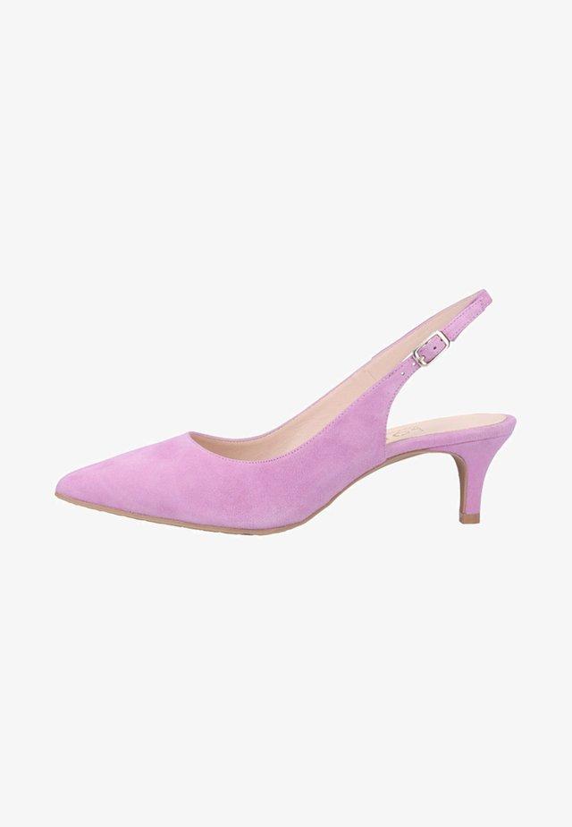 Classic heels - purple