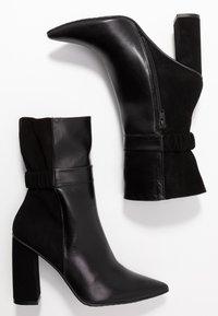 Lodi - SEDI - Kotníková obuv na vysokém podpatku - black - 3