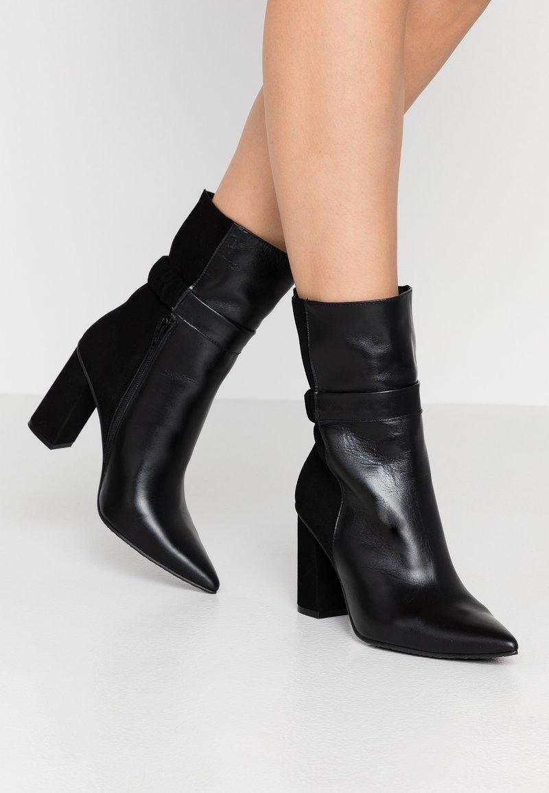 Lodi - SEDI - Kotníková obuv na vysokém podpatku - black