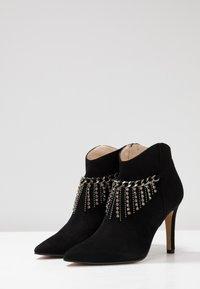 Lodi - RUGO - Kotníková obuv na vysokém podpatku - nero - 4