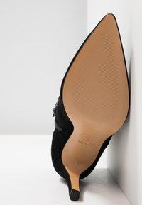 Lodi - RUGO - Kotníková obuv na vysokém podpatku - nero - 6