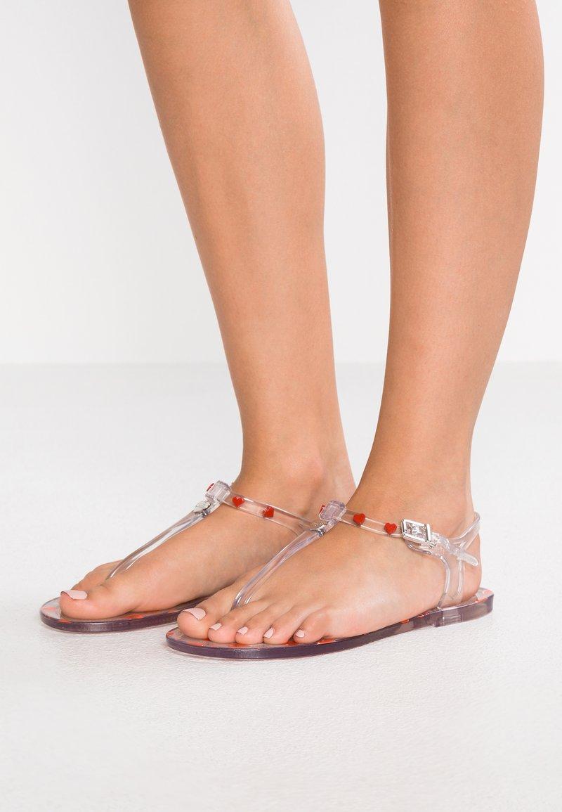 Love Moschino - Sandalias de dedo - transpartent