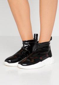 Love Moschino - Sneakers hoog - black - 0