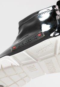 Love Moschino - Sneakers hoog - black - 2