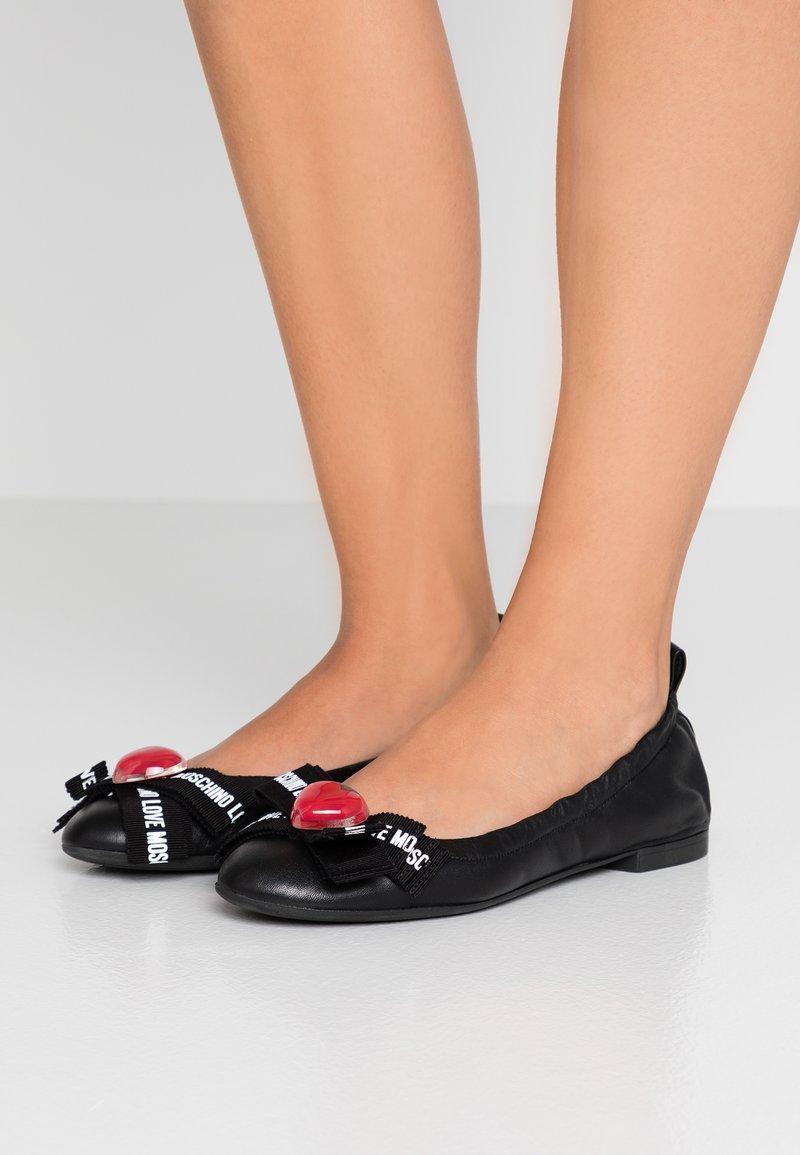 Love Moschino - Ballet pumps - black