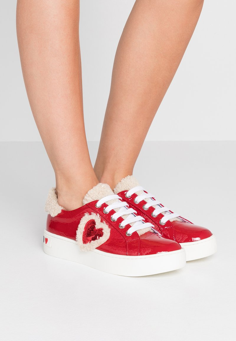 Love Moschino - Trainers - red
