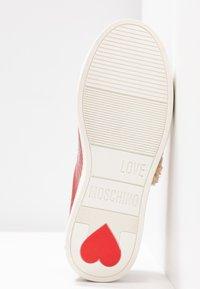 Love Moschino - Joggesko - red - 6