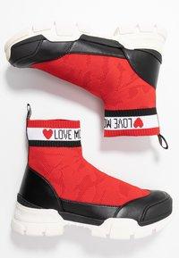 Love Moschino - Vysoké tenisky - red - 3