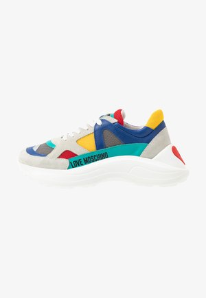 Trainers - yellow/grey