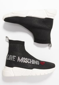 Love Moschino - Vysoké tenisky - nero - 3