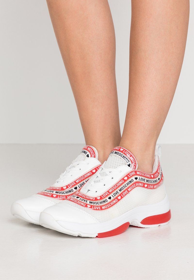 Love Moschino - Sneakers laag - white
