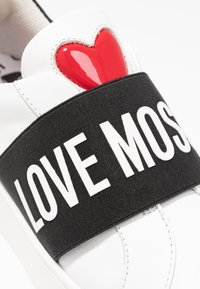 Love Moschino - Instappers - white/black - 2