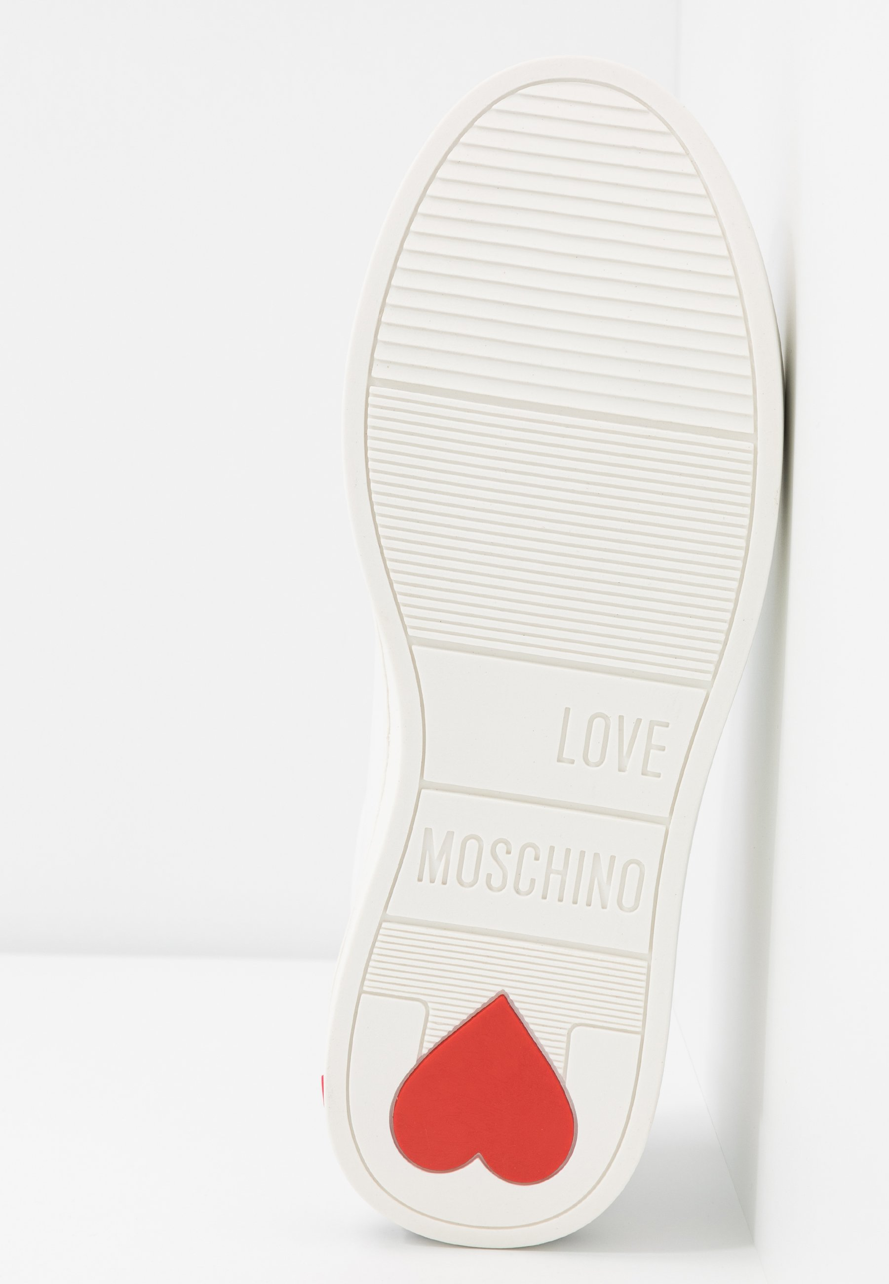 Love Moschino EXCLUSIVE - Sneakersy niskie - bianco
