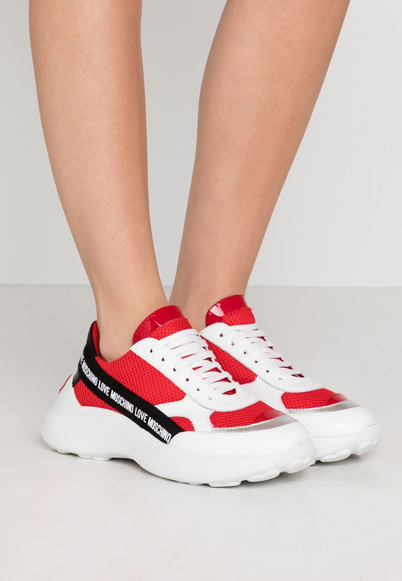 Love Moschino - Sneakers laag - red