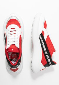 Love Moschino - Sneakers laag - red - 3