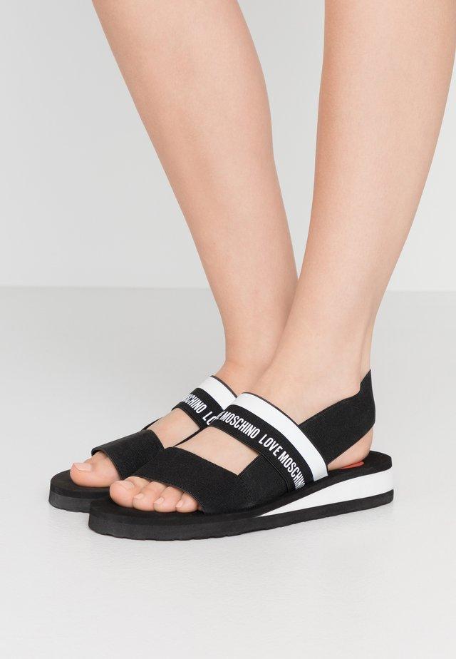 Sandalen - nero