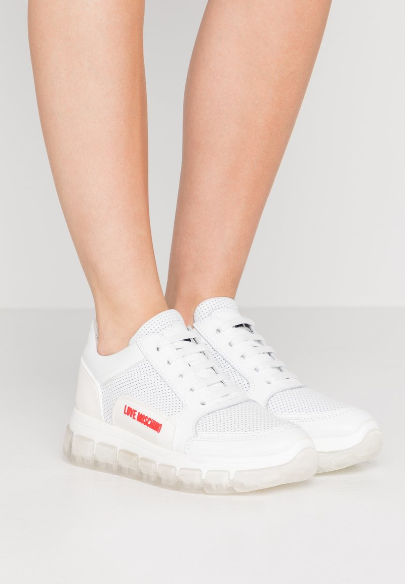 Love Moschino - Sneakers laag - bianco