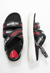 Love Moschino - Sandalen met plateauzool - nero - 3