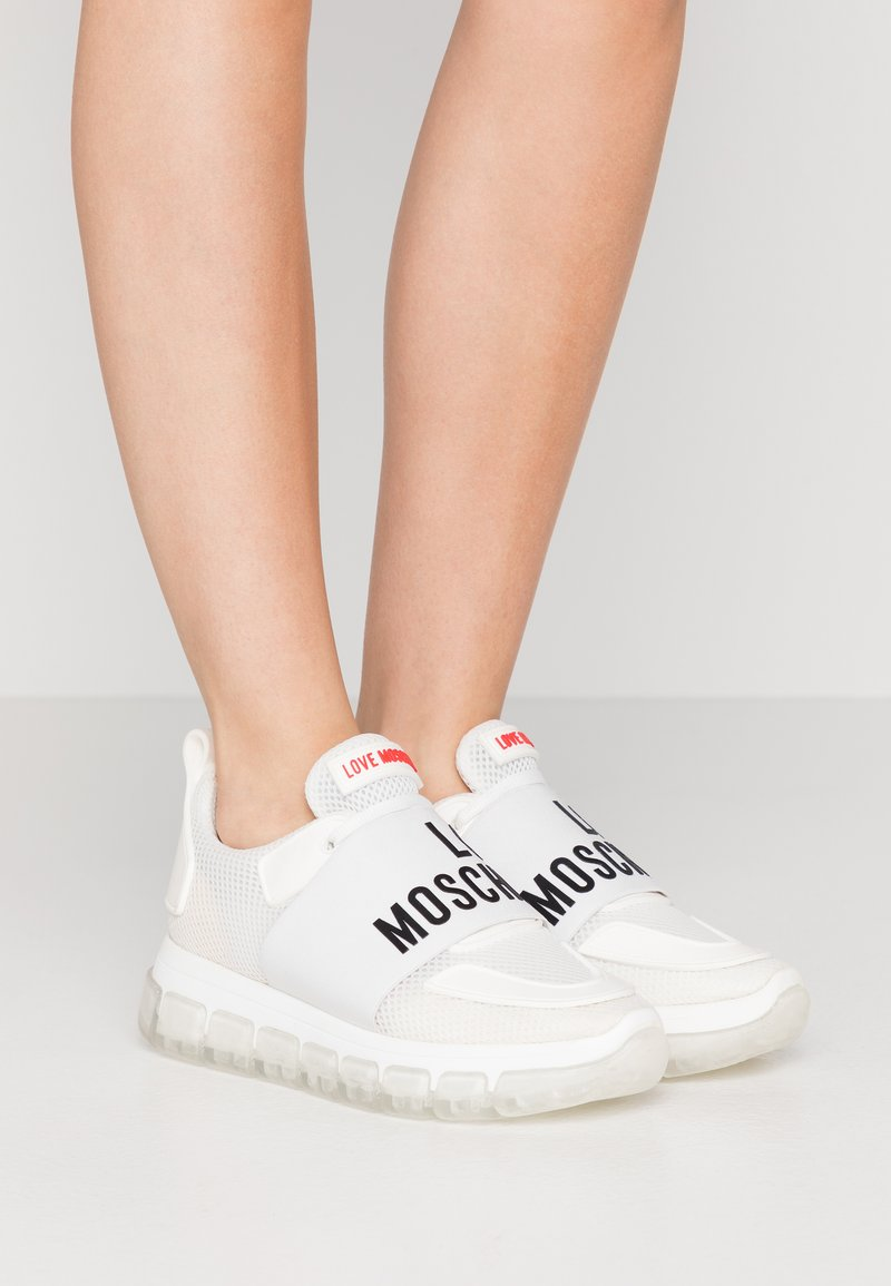 Love Moschino - Sneakers laag - bianco