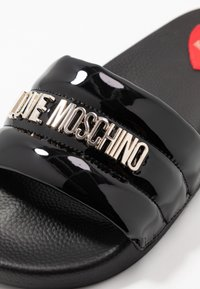 Love Moschino - Pantofle - nero - 2
