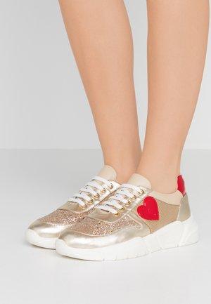Sneakers basse - beige/platinum