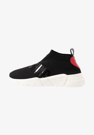 LOVE SOCKS - Sneakers alte - black