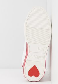 Love Moschino - Sneakers laag - bianco/rosso - 6