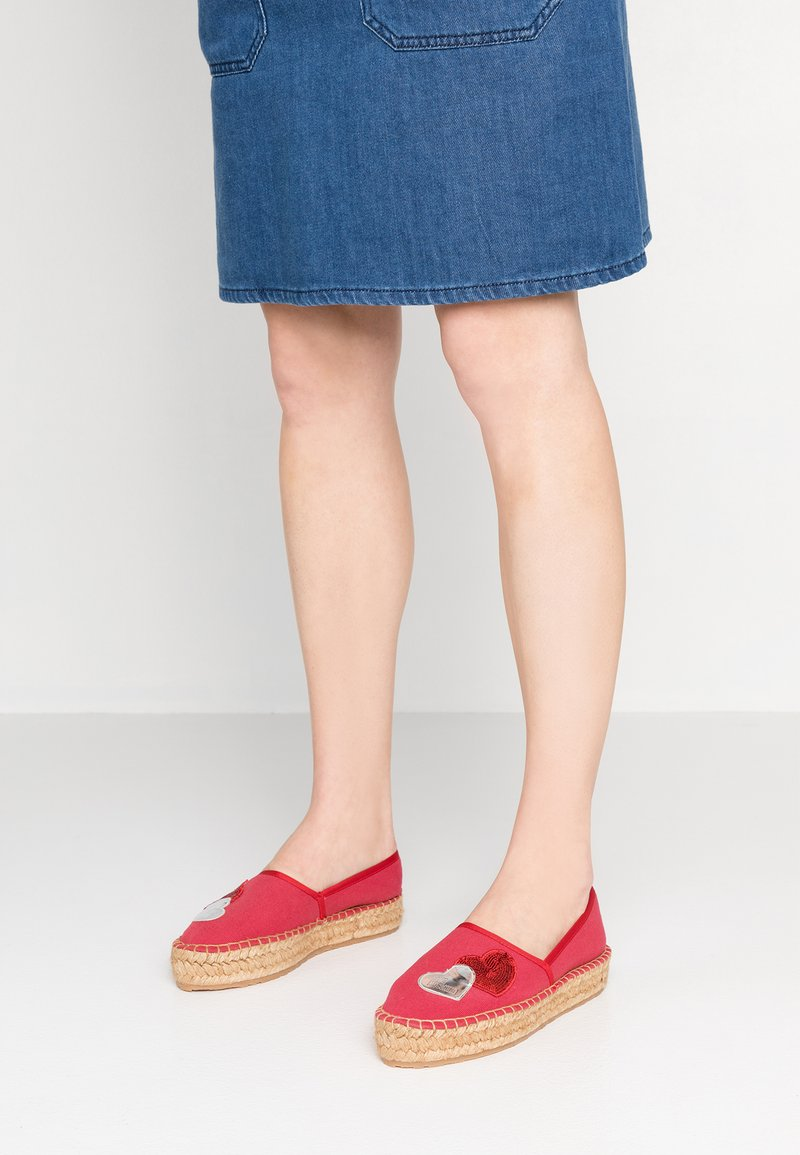 Love Moschino - Espadrilky - red