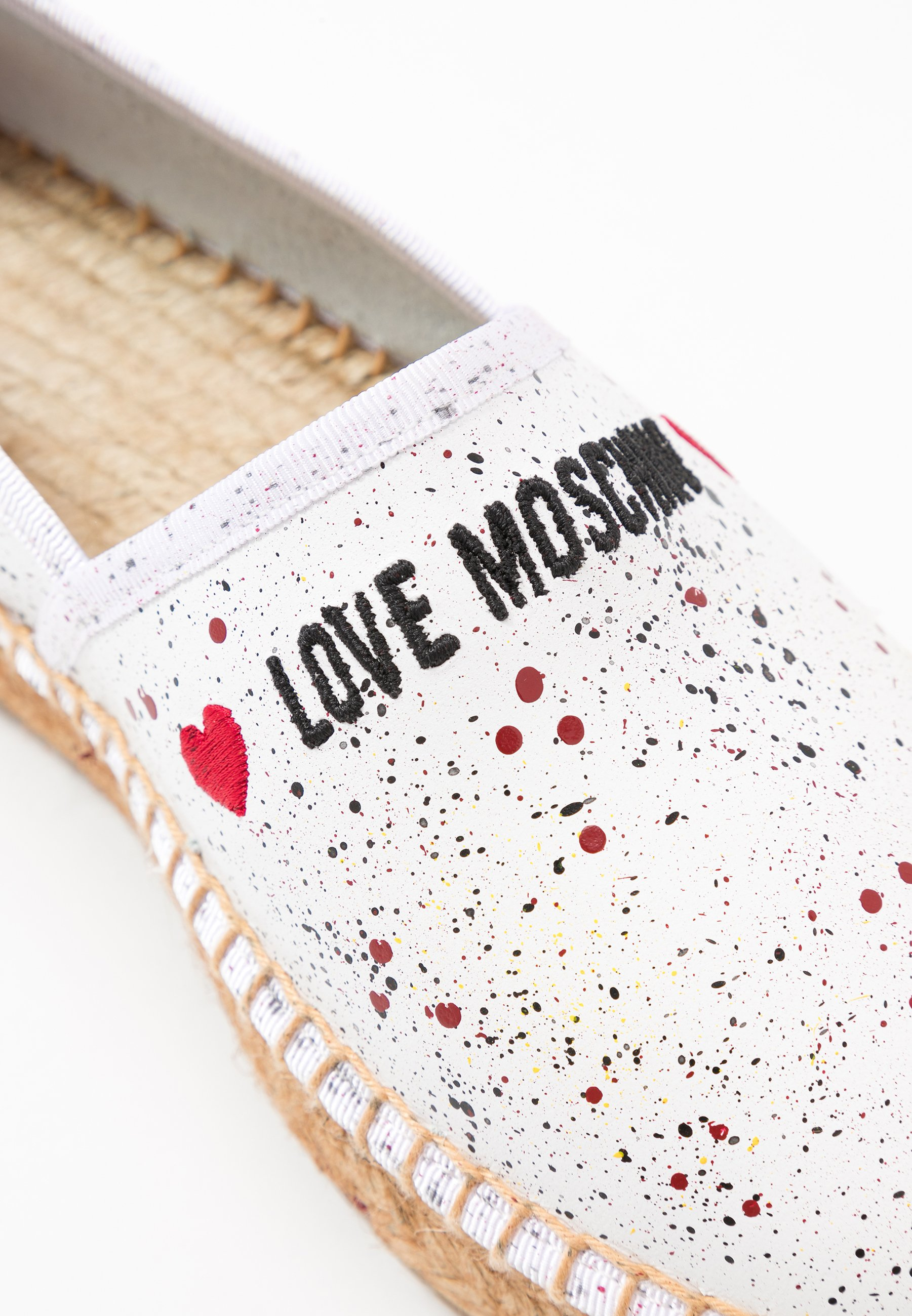 Love Moschino Espadrille - Bianco Black Friday