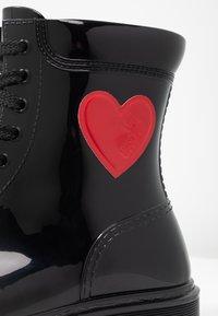 Love Moschino - Gummistøvler - black - 2