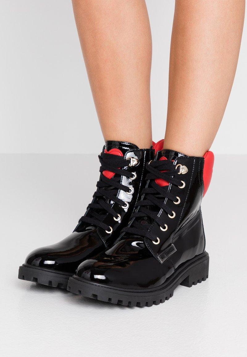 Love Moschino - Veterboots - black