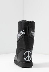 Love Moschino - Zimní obuv - black - 5