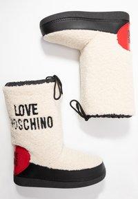 Love Moschino - Vinterstøvler - offwhite - 3