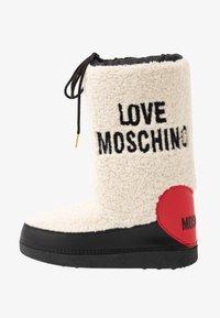 Love Moschino - Zimní obuv - offwhite - 1