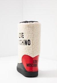 Love Moschino - Vinterstøvler - offwhite - 5
