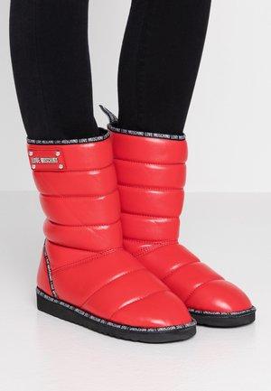 Zimní obuv - red