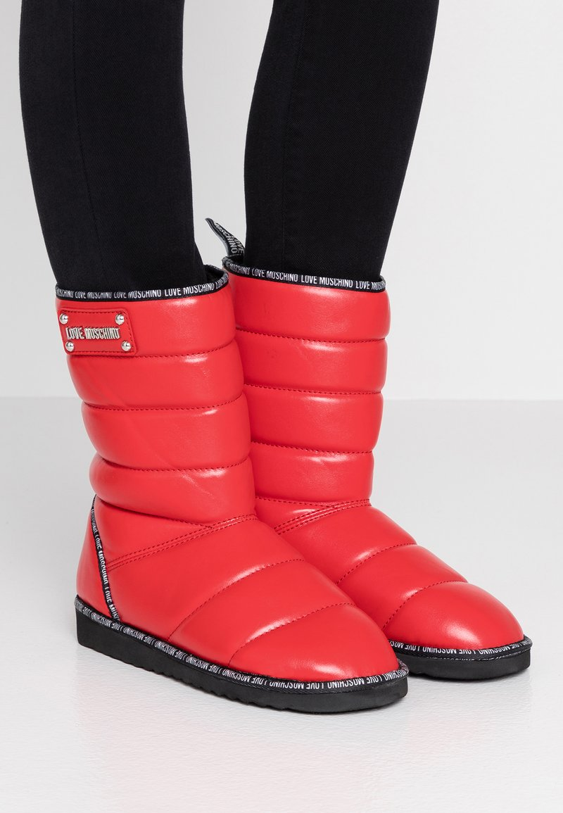 Love Moschino - Winter boots - red