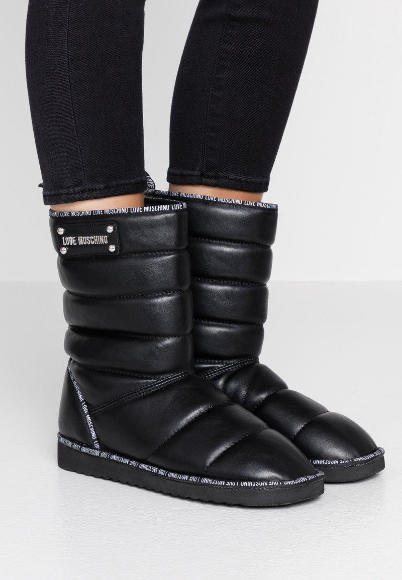 Love Moschino - Stivali da neve  - black