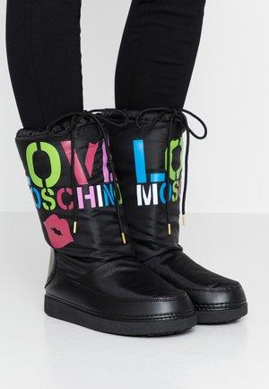 KUSS - Zimní obuv - black