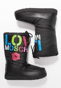 Love Moschino - KUSS - Zimní obuv - black - 3